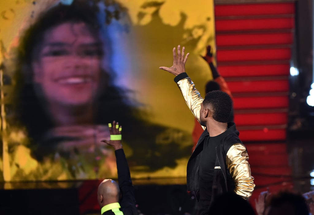 Usher Performed to Michael Jackson's New Song