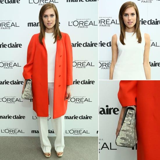 Allison Williams Wearing Calvin Klein