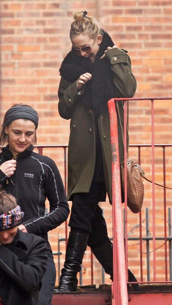 Pregnant Kate Hudson Explores With Matt Bellamy and Might Act With James Franco