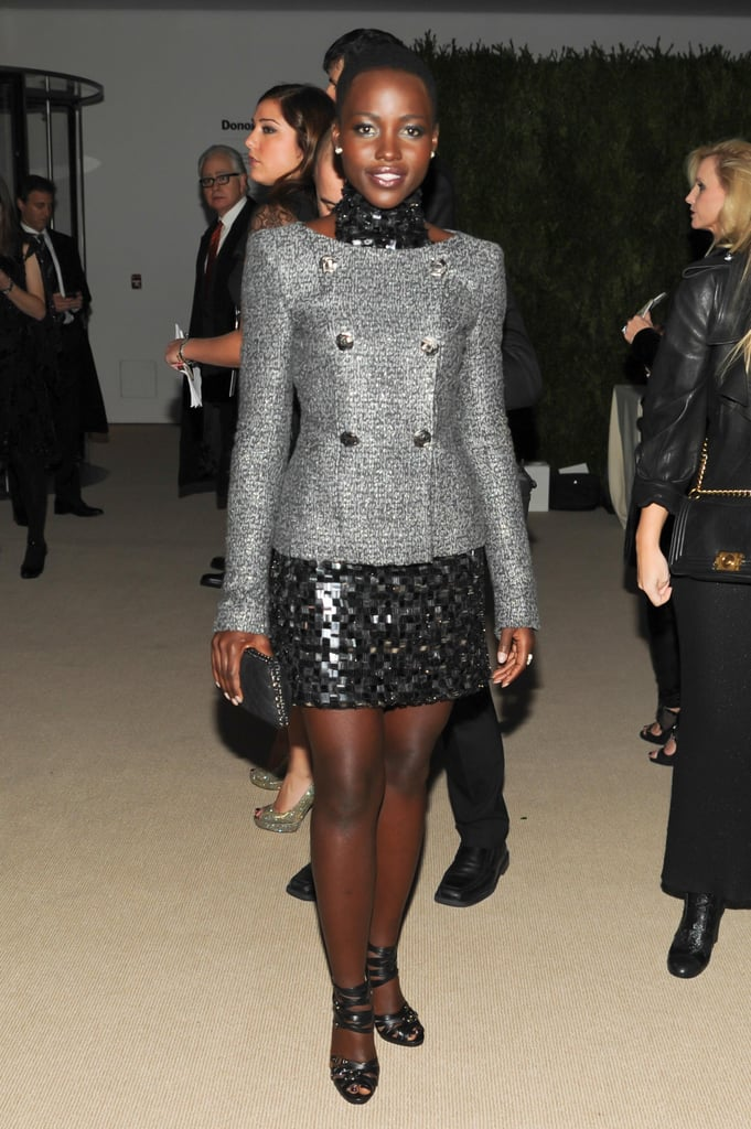 Lupita Nyong'o sparkled with Chanel and MoMA while at the museum's Film Benefit.