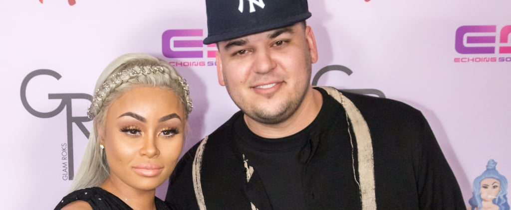 Rob Kardashian and Blac Chyna Make Their Red Carpet Debut as Engaged, Expectant Parents