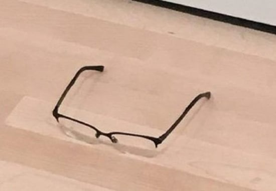 A Teen Became An Artist By Leaving His Glasses On The Floor Of An Art Museum