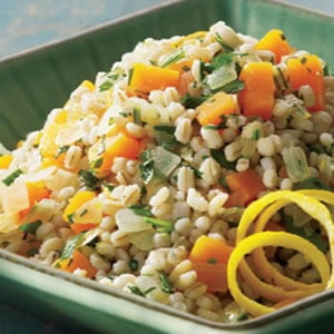 Healthy Side: Butternut and Barley Pilaf