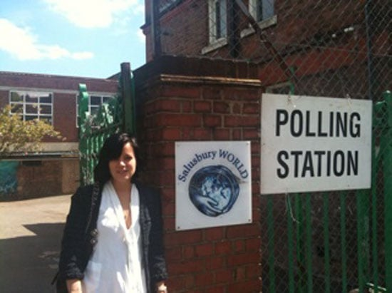 Pictures of Celebrities Voting in General Election Including Lily Allen Did Their Twitter Messages Encourage You to Vote
