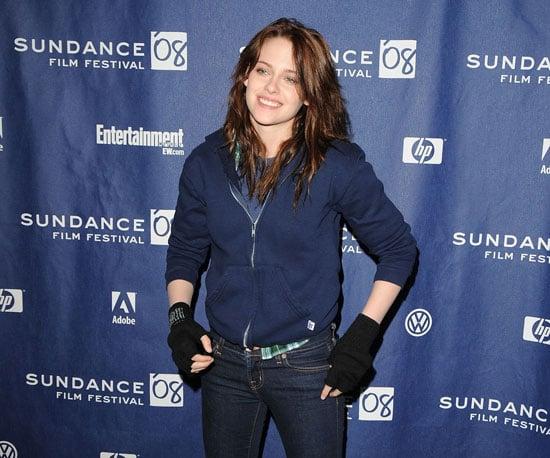 Kristen Stewart posed at The Yellow Handkerchief premiere in 2008.