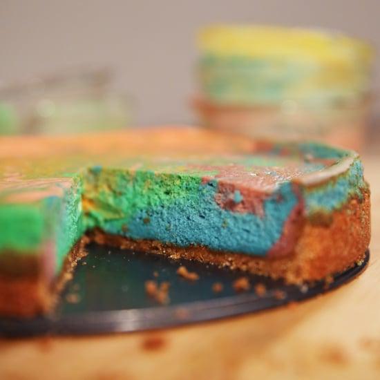 Tie-Dye Cheesecake Recipe