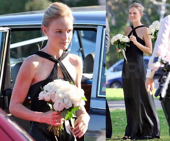 Kate Bosworth Plays the Beautiful Bridesmaid