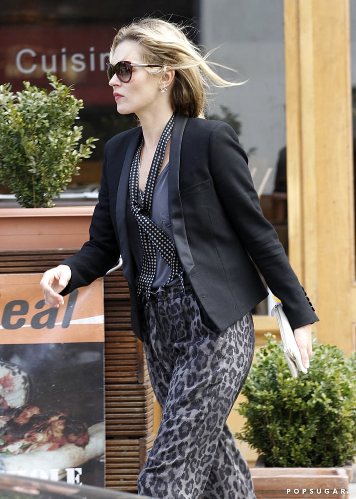 Kate Moss Makes a Lunch Run After Lila's Big Day