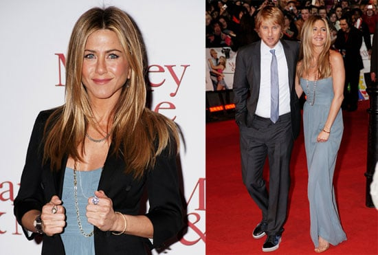 Photos of Jennifer Aniston and Owen Wilson at the UK/London Premiere of Marley & Me