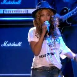 "Video of Jay-Z and Beyonce Singing ""Young Forever"" at Coachella 2010"