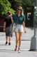 Whitney Keeps Her Top and Shorts Short in NYC