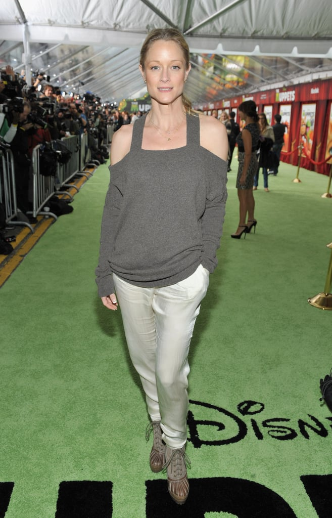 Teri Polo stepped out for the screening.
