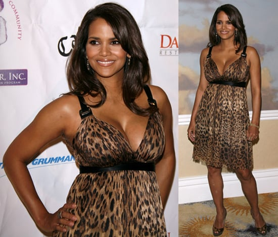 Hot Halle Debuts Her Post Baby Body!