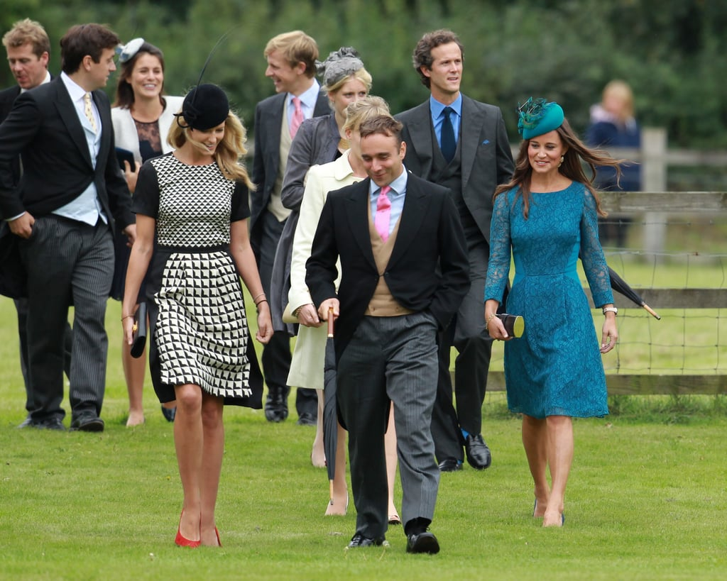 William and Harry Put on Their Best For a Wedding With Pippa