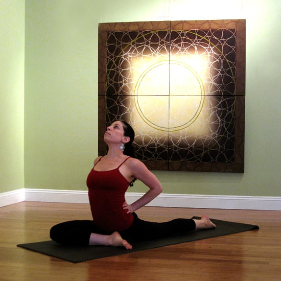 Postnatal Yoga Sequence For Sore Back and Tight Hips