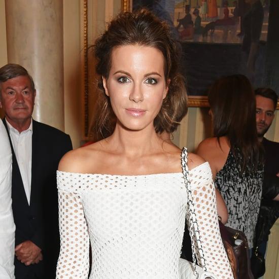 Kate Beckinsale's White Dress and Skort Set