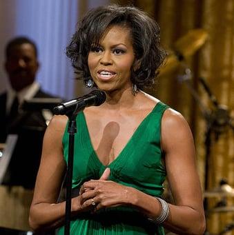 Photos of Michelle Obama and Barack Obama at Stevie Wonder Award Ceremony