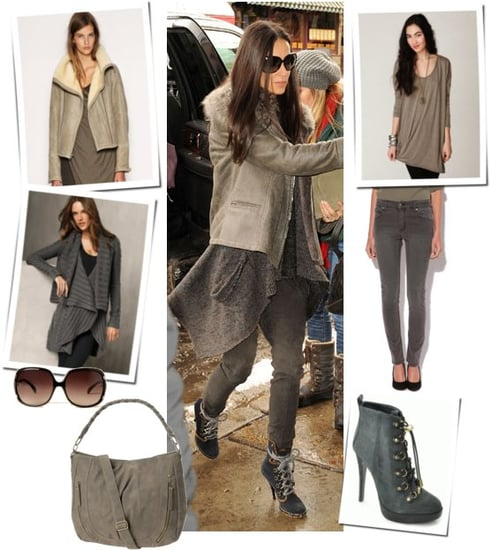 Pictures of Demi Moore at the 2011 Sundance Film Festival