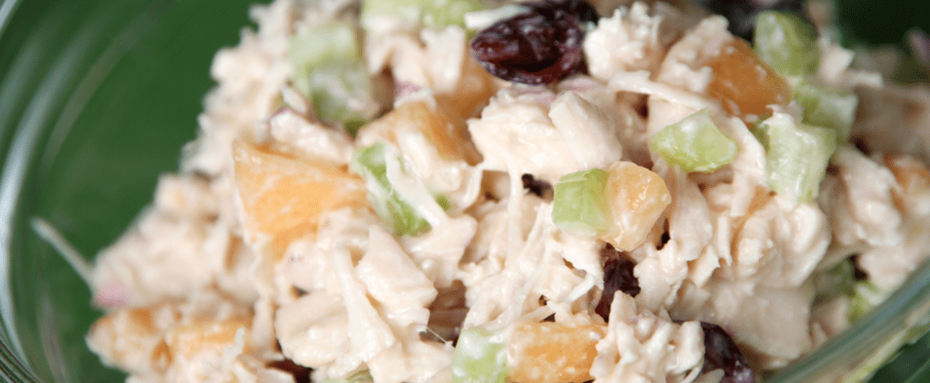 Keep Your Dog Feeling Happy and Healthy With This Turkey Salad Treat