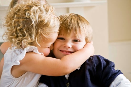 Has Hugging Become the New Handshake For Kids?