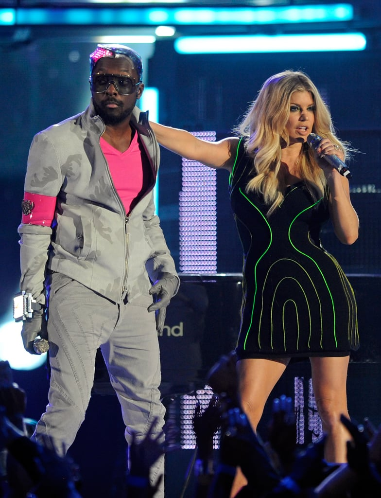 The Black Eyed Peas rocked the stage in 2011.