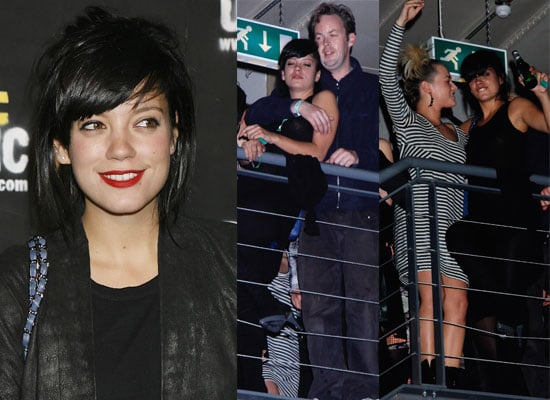 Gallery of Pictures of Lily Allen and Sam Cooper In PDA, Kaya Scodelario Diesel Party, Bonnie Wright Diesel Party,