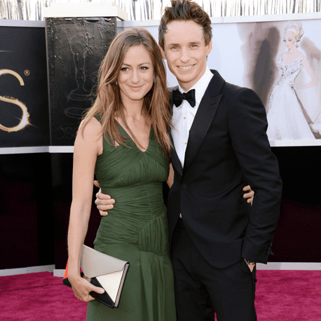 Eddie Redmayne and His Girlfriend at Oscars 2013