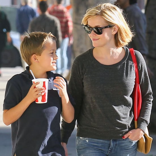 Reese Witherspoon Takes Her Kids Out to Lunch | Pictures