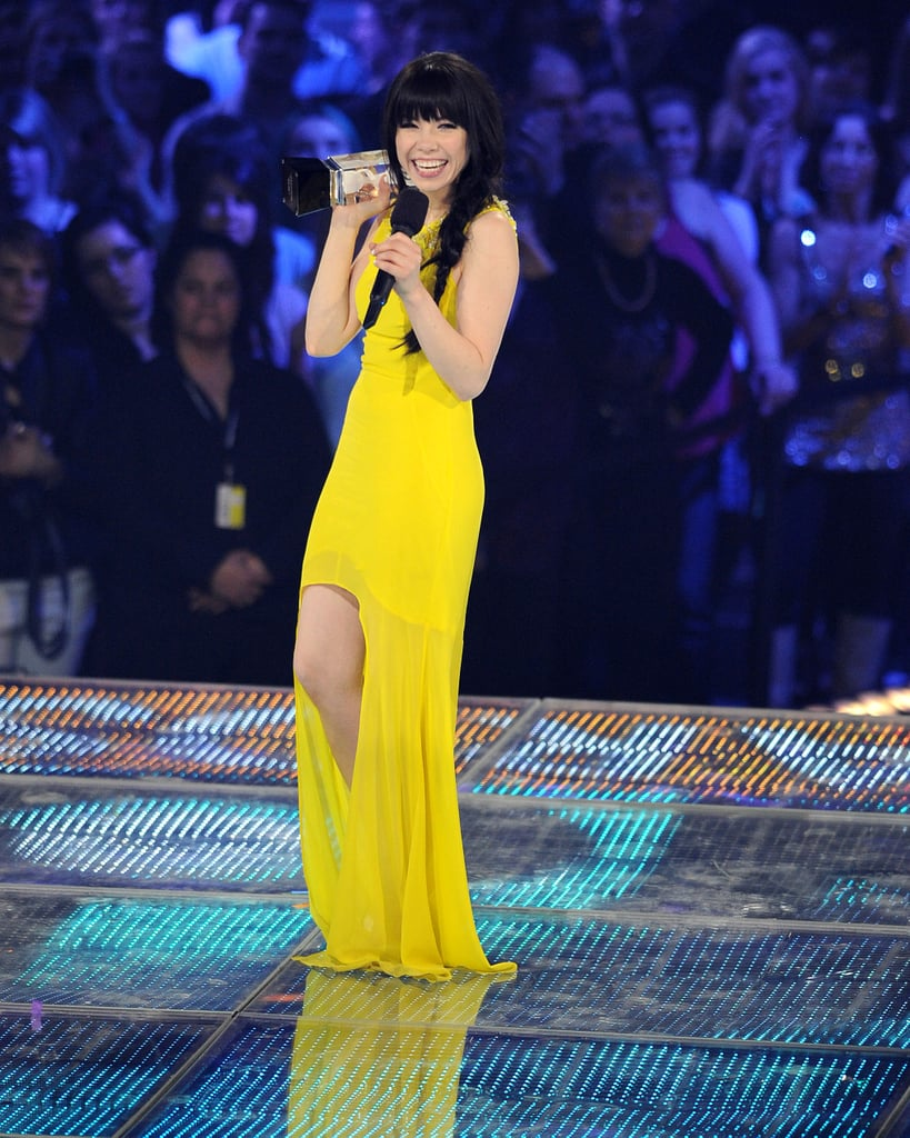 Carly Rae Jepsen won album of the year at the 2013 Juno Awards in Canada.