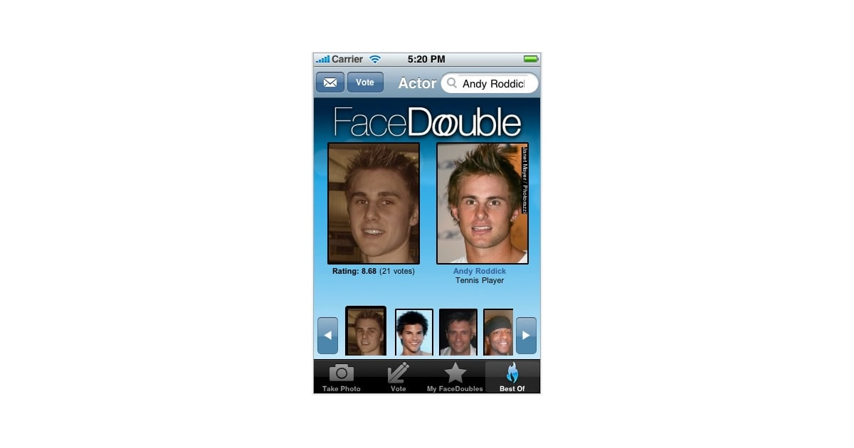 FaceDouble Celebrity Look-alike - Home | Facebook