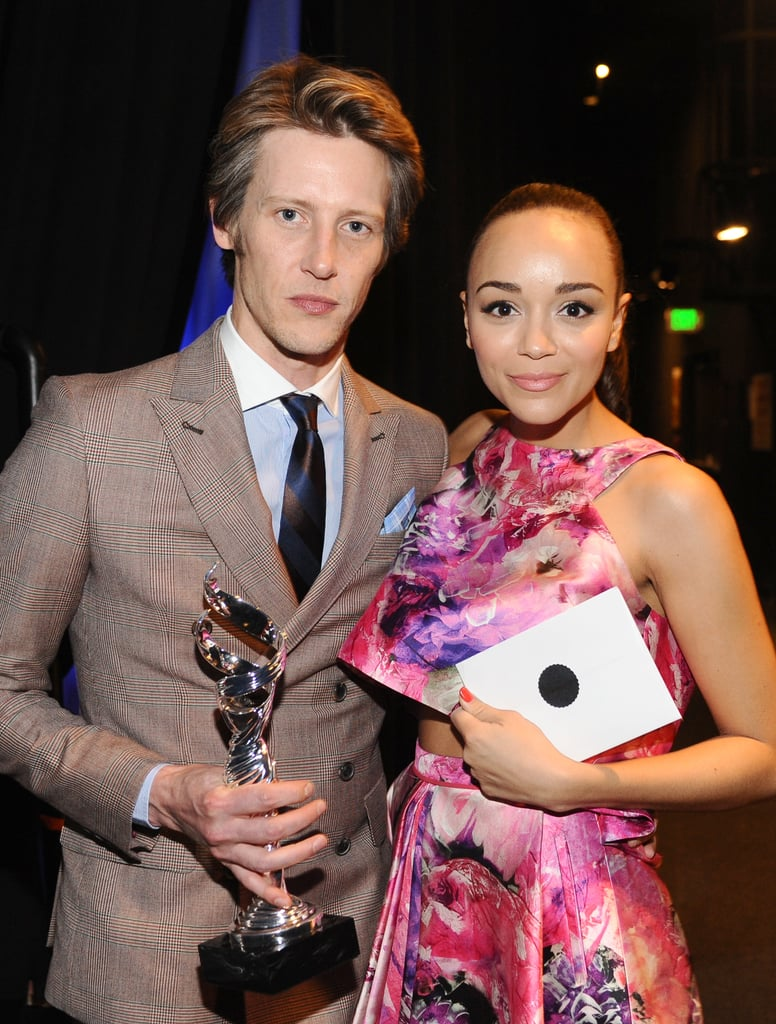 Gabriel Mann posed with costar Ashley Madekwe.