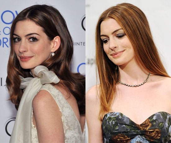 Which Hair Color Do You Prefer on Anne Hathaway?
