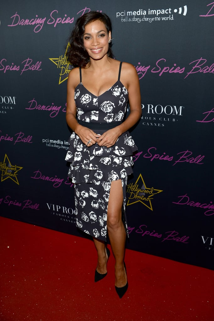 Rosario Dawson at the Hollywood Domino Party