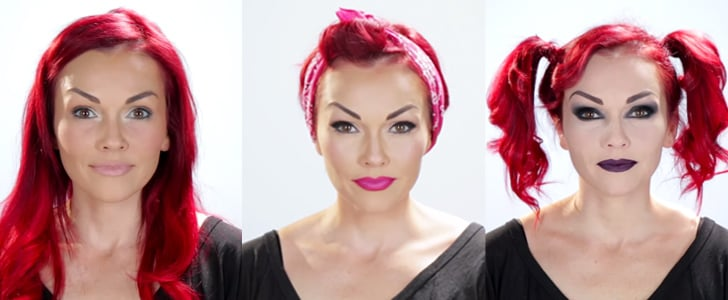 Watch This Woman Turn Herself Into 5 Different People Using Makeup