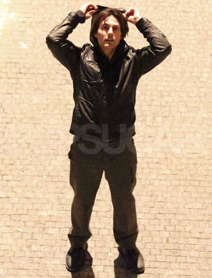 Pictures of Tom Cruise and Jeremy Renner on the Prague Set of Mission Impossible 4