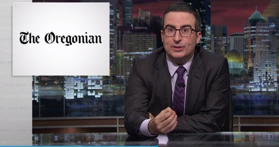 John Oliver Shines Spotlight on Newspapers