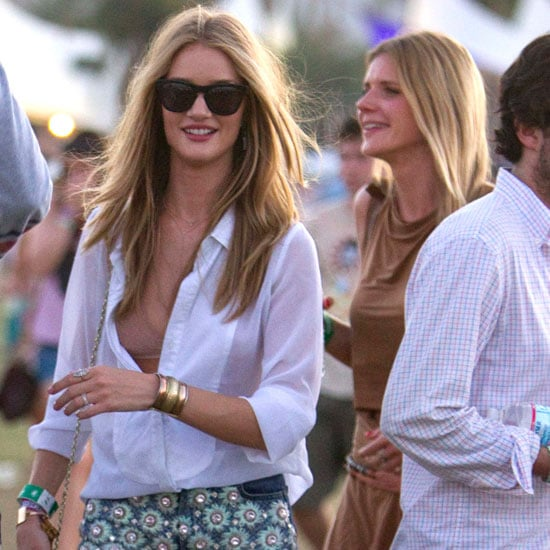 Coachella Weekend 2: See All the Celebrity Festival Fashion! Rosie Huntington-Whiteley, Lindsay Lohan, Zoe Kravitz & More!