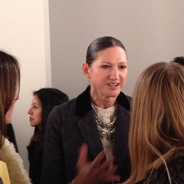 Jenna Lyons took a moment to speak about the J.Crew collection.