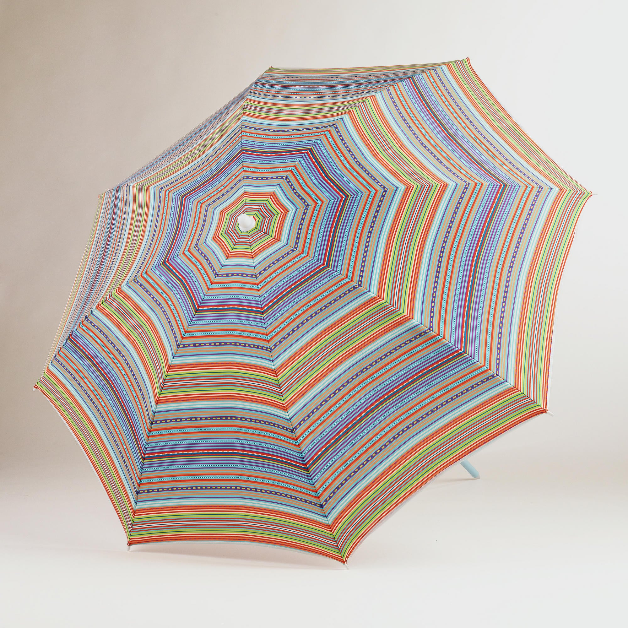 This multicolored, striped umbrella ($17) from World Market is gorgeous — and so affordable.