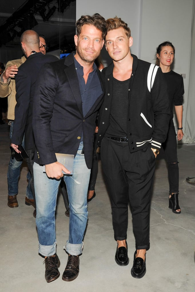 Nate Berkus and his fiancé, Jeremiah Brent, attended the party, too.