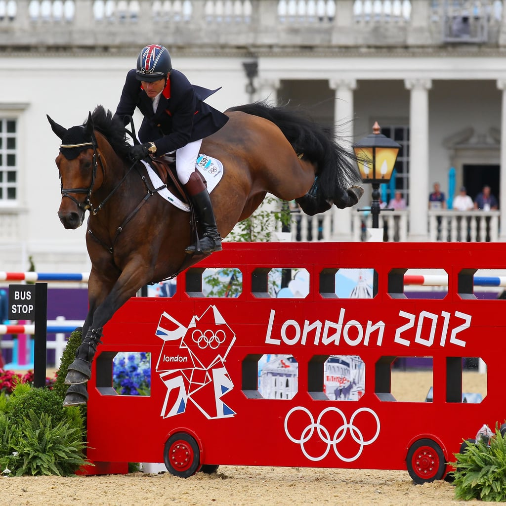 Olympic horse jumping
