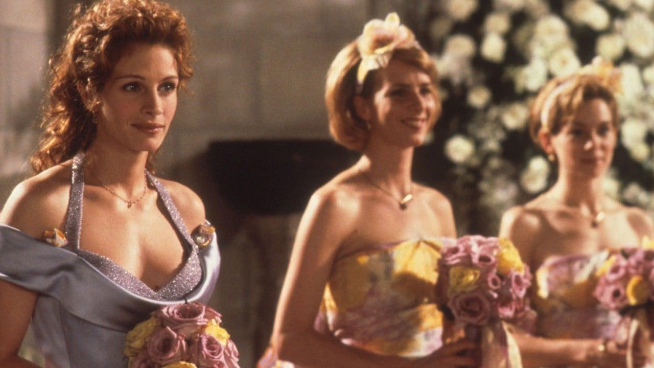 Floral Bridesmaids' Dresses