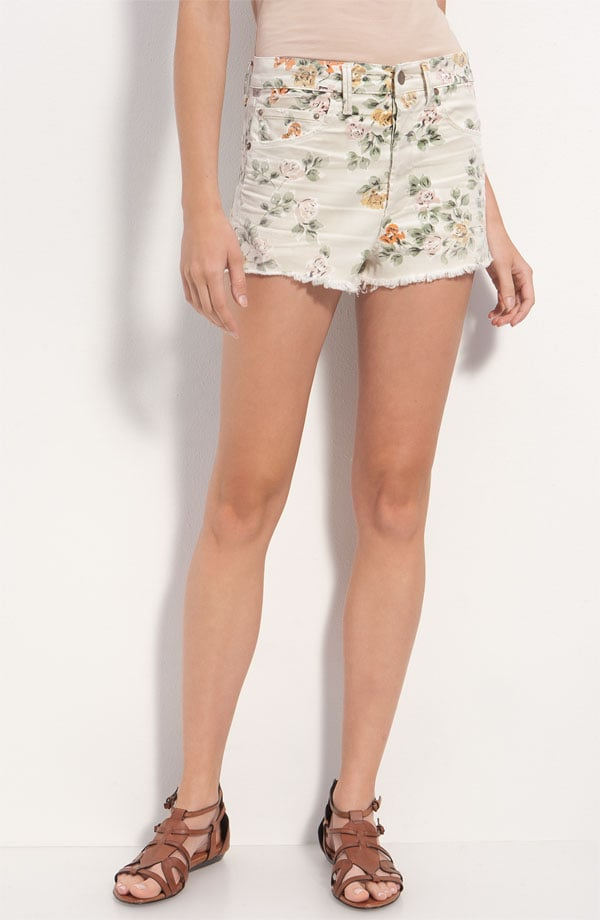 We're already suckers for the floral jean trend, but we love the cutoff version even more for showing off a colorful pair of sandals.  Citizens of Humanity Chloe High Waist Floral Cutoff Shorts ($172)