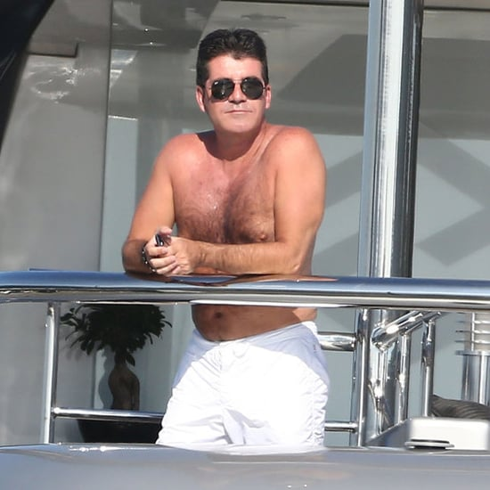 Shirtless Simon Cowell in the South of France | Pictures