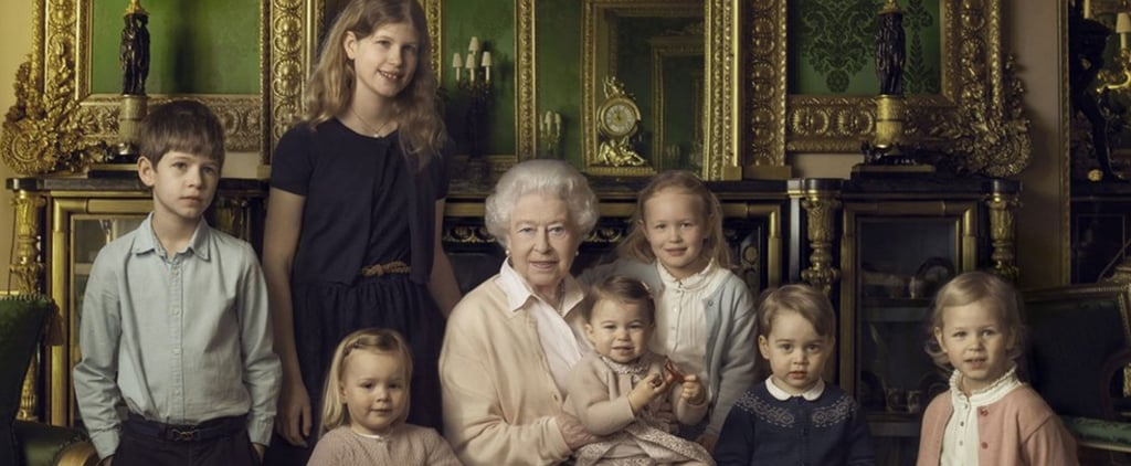 Prince George and Princess Charlotte Look So Much Alike in This New Family Portrait