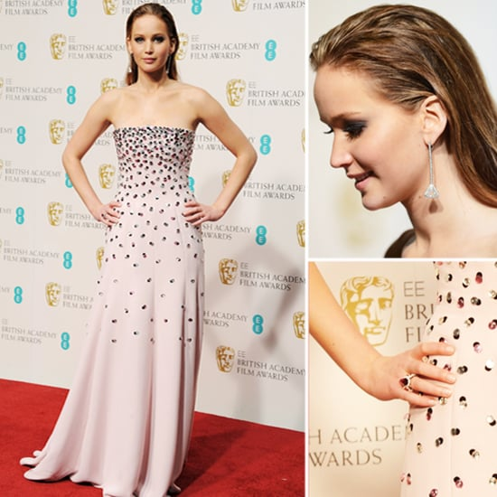 Jennifer Lawrence at BAFTA Awards 2013