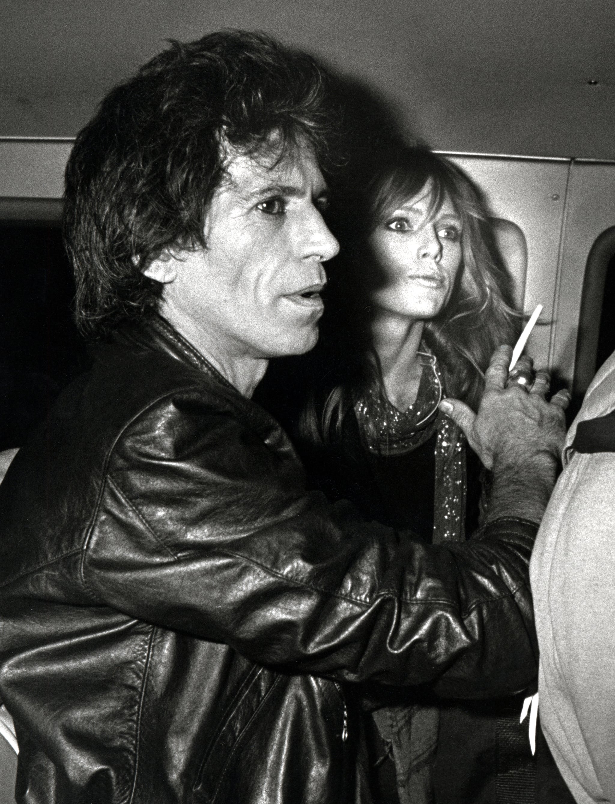 Rolling Stones guitarist Keith Richards married model Patti Hansen in 1983, and they have been together ever since. The couple have two daughters, Theodora and Alexandra.