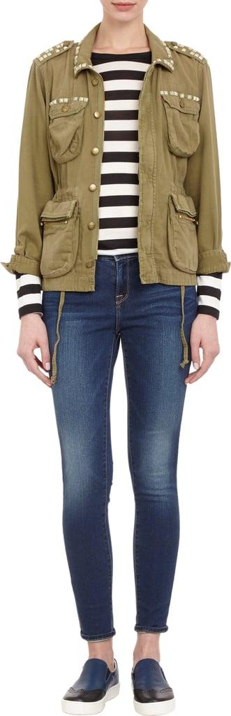 Current/Elliott Army Jacket