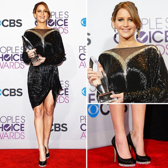 Jennifer Lawrence at People's Choice Awards 2013