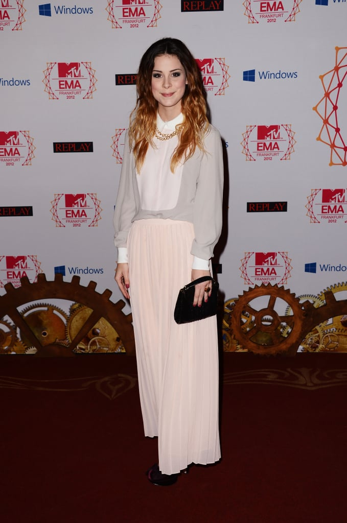 Lena stepped out in Frankfurt for the MTV EMAs.